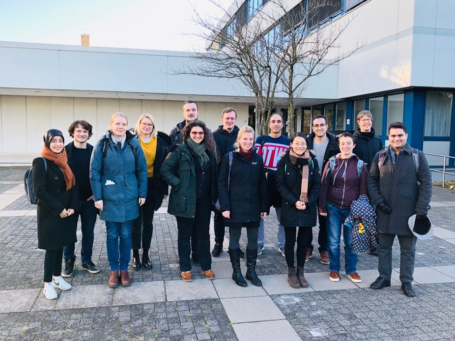 Group picture at IBM Research Department, Böblingen
